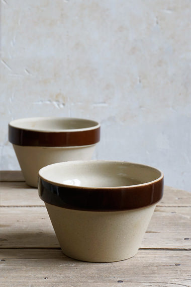 Conic bowl, Manufacture Digoin