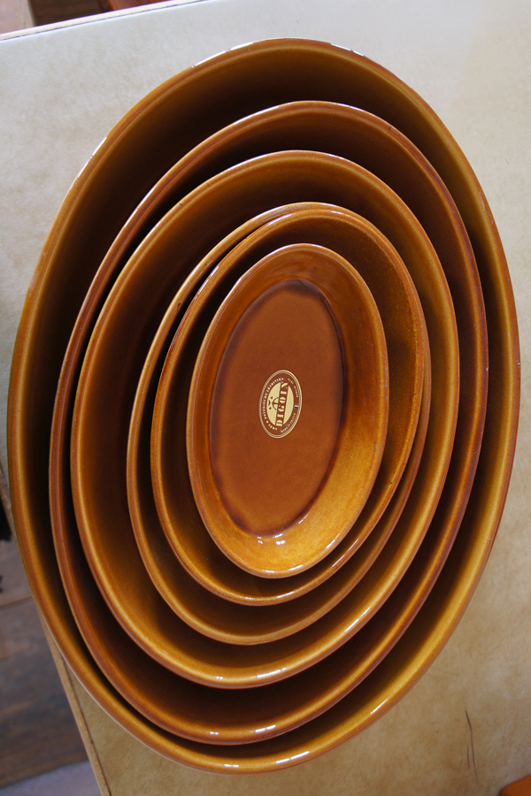 Oval Sabot dish for Cooking & stewing, Manufacture Digoin