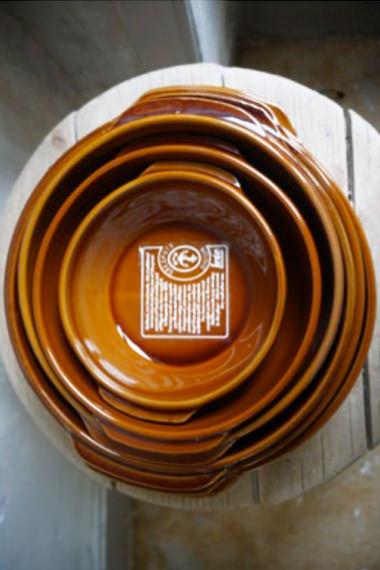 Plats creux – vue de dessus pour cuire et mijoter, Manufacture Digoin