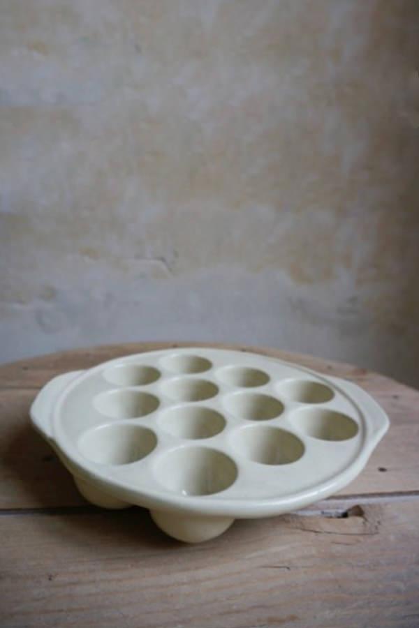 Plat à escargots pour cuire et mijoter, Manufacture Digoin