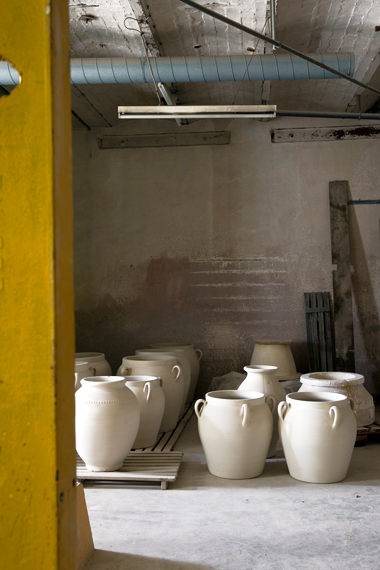 """Stockage des jarres horticoles"", Manufacture Digoin"