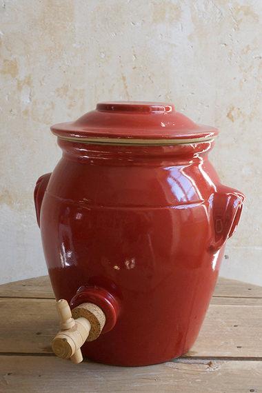 Pot à  vinaigre, Manufacture Digoin