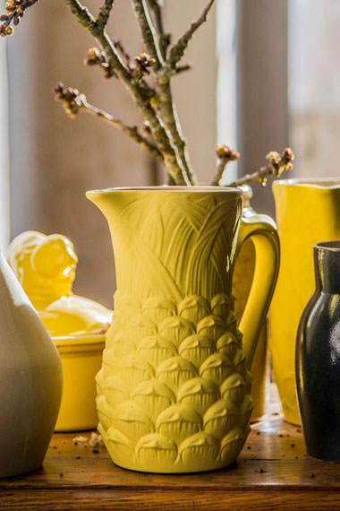 Pichet ananas pour Contenir, Manufacture Digoin