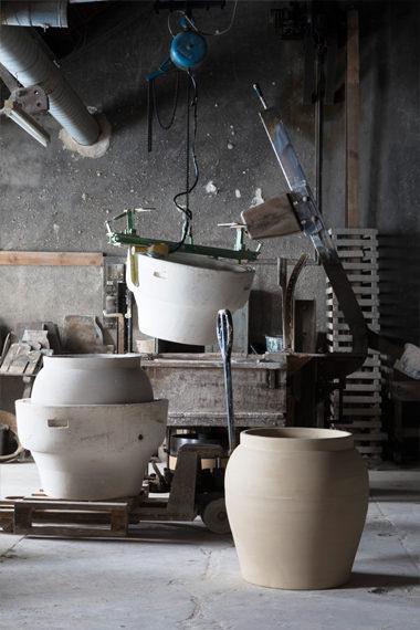 Jarre Romaine atelier pour , Manufacture Digoin