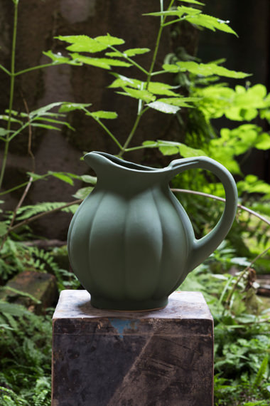 Pitcher citrouille for Containing, Manufacture Digoin