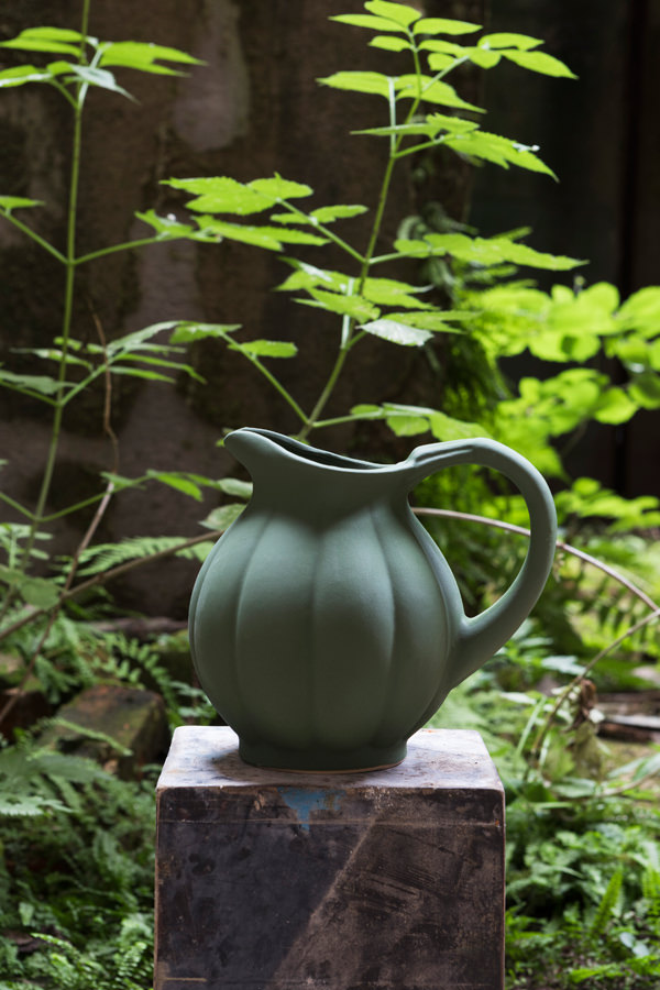 Pitcher citrouille, Manufacture Digoin