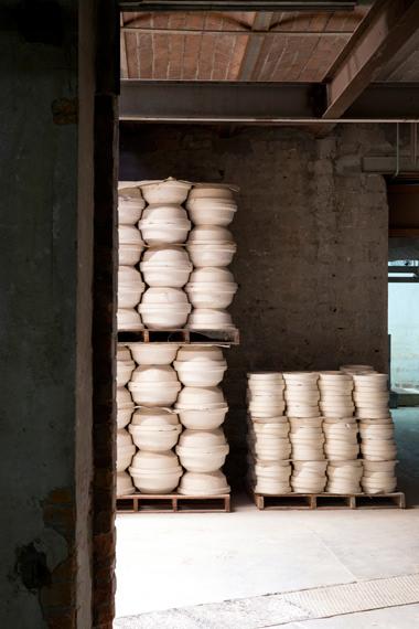 """""""stockage de moules"""", Manufacture Digoin"""