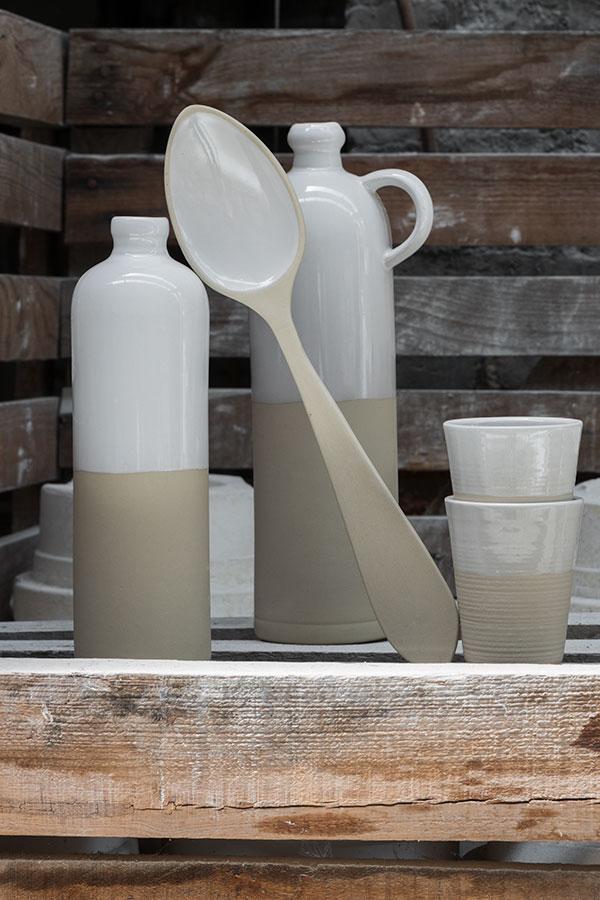 Cruchon à huile pour conserver, Manufacture Digoin