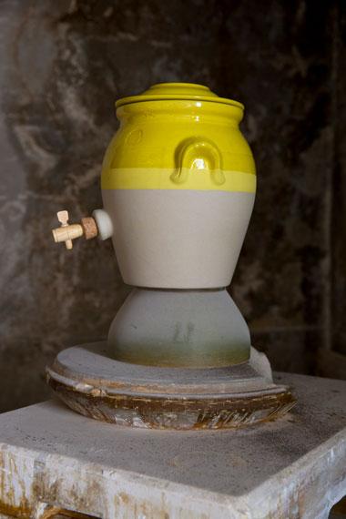 Stoneware vinegar pot, Manufacture Digoin